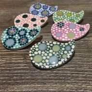 Claire Newell Porcelain Brooches